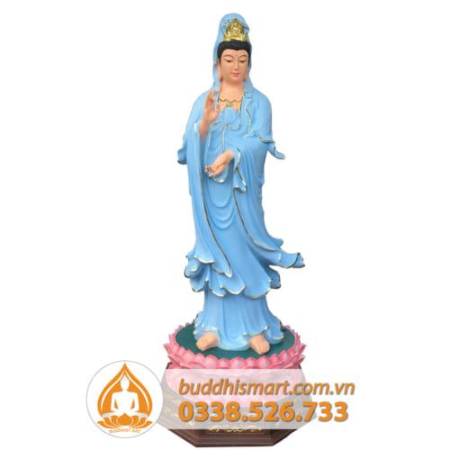 Tượng Quan Thế Âm Bồ Tát - daouyen.com MS 01