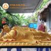 Tượng phật A Di Đà nằm 140cm Buddhist Art