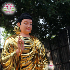 Tượng Phật Bổn Sư Thích Ca Mâu Ni 150 cm
