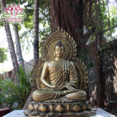 Tượng Phật Bổn Sư Thích Ca Composite giả đồng