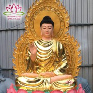 Tượng Phật Bổn Sư thích Ca bằng composite