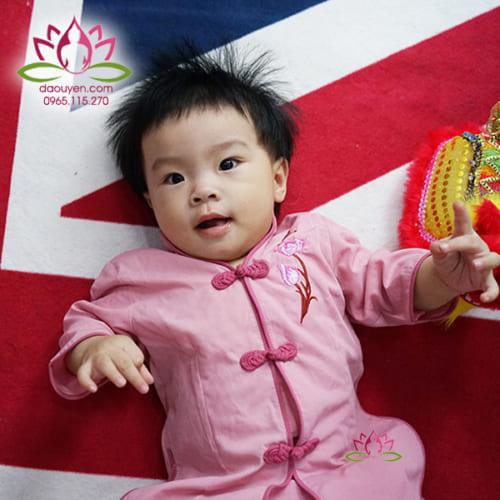 Áo Lam, Đồ lam cho bé gái dễ thương